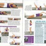 Alisar Ailabouni in der Zeitschrift Shape