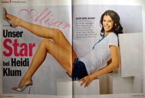Alisar Ailabouni in TVMedia vom 02.06.2010