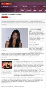 Wird sie zu Heidis Cordoba? (Online Kurier vom 04.06.2010)
