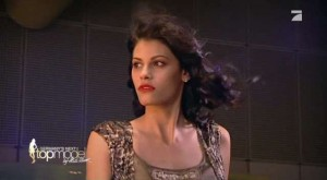 Alisar Ailabouni bei GNTM Folge 3