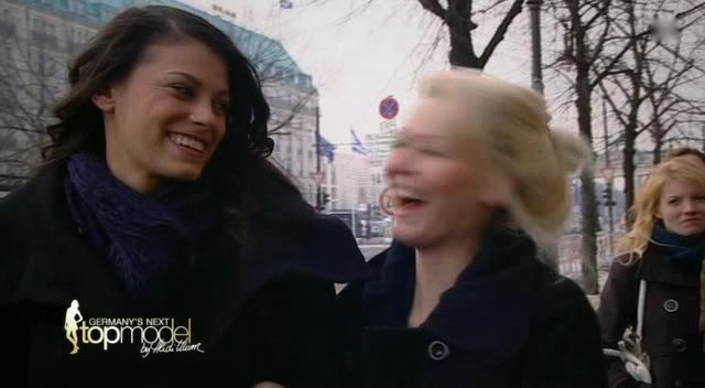 Alisar Ailabouni bei GNTM Folge 1